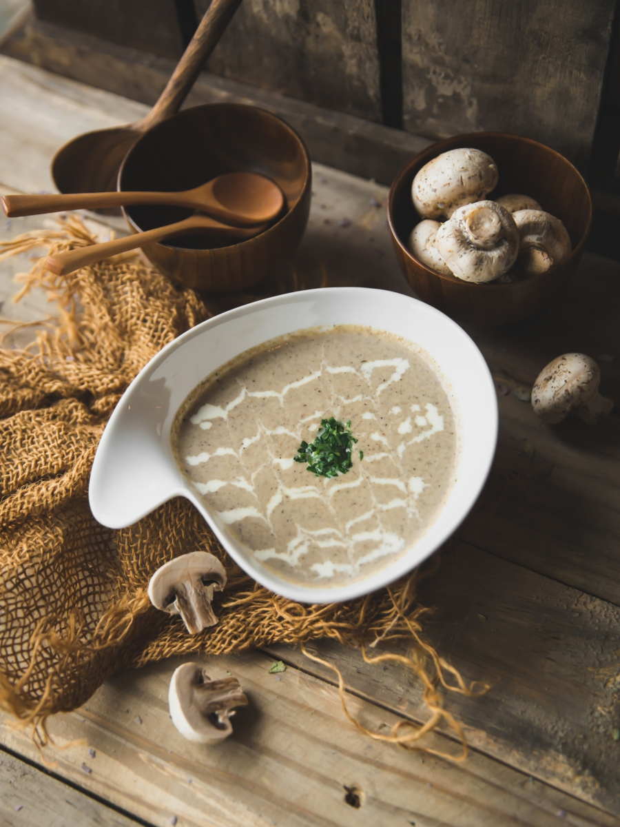 Thermomix cream of mushroom soup