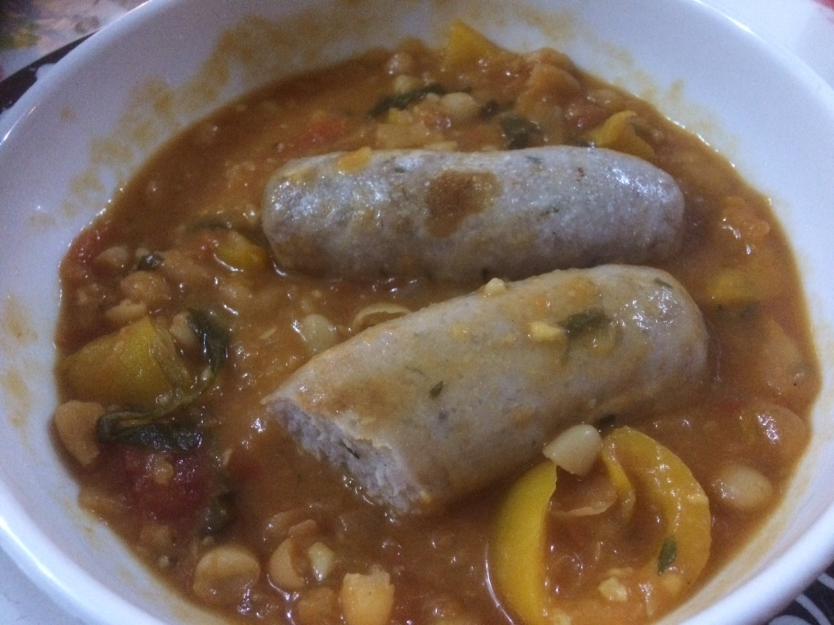 Hearty sausage cassoulet - Thermomix recipe