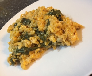 Greek chicken and spinach risotto Thermomix recipe