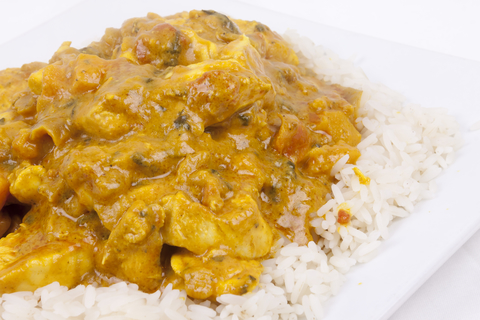 Sweet potato, spinach and chickpea curry Thermomix recipe